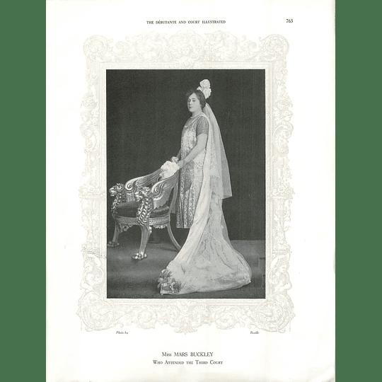 1925 Miss Mars Buckley & Mrs Barthorpe
