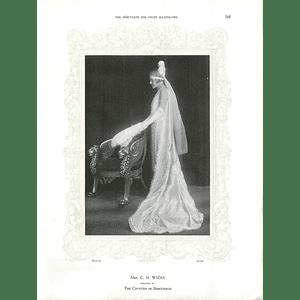 1925 Mrs C N Wadia & Miss Colleen Vallings