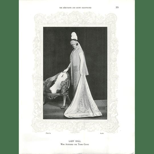 1925 Lady Hall & Mrs William Askew