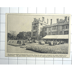 1936 Grounds Of Lambeth Palace During Garden Party Oxford Society