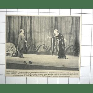 1936 Mme Kirsten Flagstad, Soprano Isolde, Tristan Mr Melchior