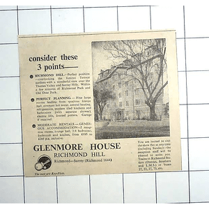 1936 Glenmore House, Richmond Hill, Perfect Planning From £195 P.a.
