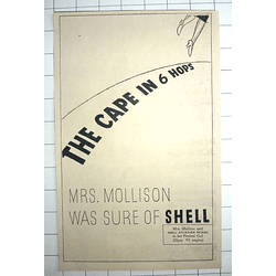1936 Flying To The Cape And Six Hops, Mrs Mollison Sure Of Shell