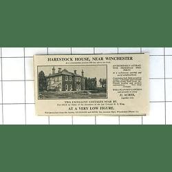 1936 Harestock House Near Winchester 290 Feet Above Sea Level 3 Acres For Sale