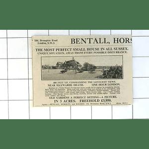 1936 Tudor Sussex Farmhouse Near Haywards Heath In 3 Acres, £3950