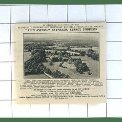 1936 Aliblasters, Baynards, Sussex Borders, For Sale