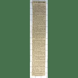 1932 Knightsbridge Flat Shooting Drama, Mrs Barney In Court