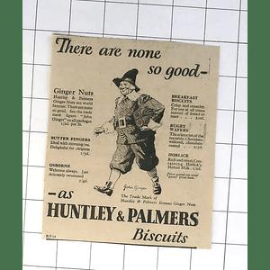 1932 John Ginger, Hunting Palmer's Trademark Puritan