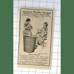 1932 First Demonstrations In England Causewayhead Qualcast Wonder Washer