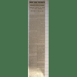 1932 Appledore Schooner Sarah Evans Dashed To Pieces Portreath Thrilling Rescue