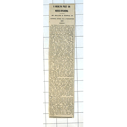 1937 Mr Wallace B Nichols, Oxford Judge On Verse Speaking
