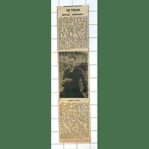 1937 Penzance Pavilion, Sandy Laurie 1937 Follies