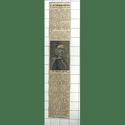 1938 St Just Musician, Mr Benjamin Angwin Honoured