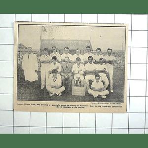 1938 Sennen Cricket Club, Team Photo, B Hitchens Captain