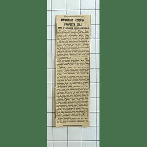 1934 Trenestrall Farm Philleagh, 240 Acres Sells For £5375, Polkanuggo, £210