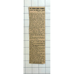 1934 French Bonds Scandal, Stavisky Dies From Bullet Wounds Chamonix