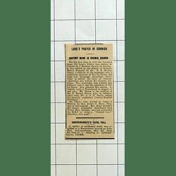 1934 Lord's Prayer Spoken In Cornish Bodmin Church