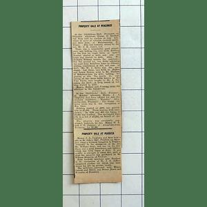 1934 Minalto, Alexandra Road Penzance Sells For £1255