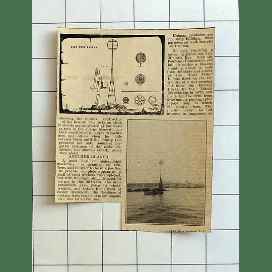 1934 Gear Rock Beacon, Battery Rocks,holman