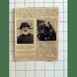 1934 N Holman Long Service Employees George Edward Trezize, Almond Rowe, Eddy