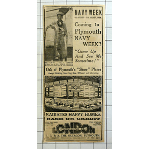 1934 Bill Jordan, Lfc Plymouth Navy Week