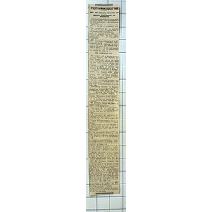 1934 John O'groats To Lands End Record On Horseback, David Ainsworth Preston