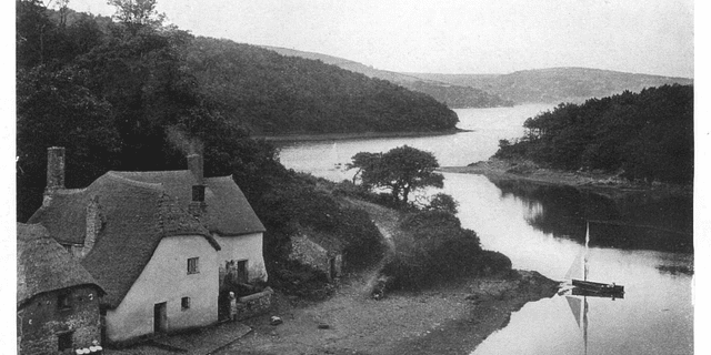 The Lotos Land of Salcombe Harbour 1904