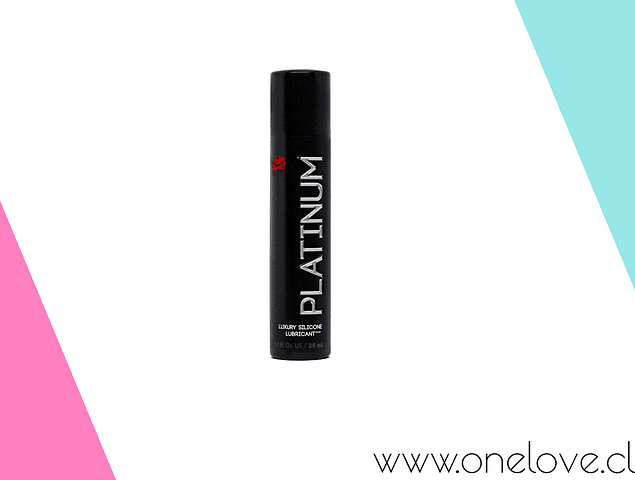 LUBRICANTE SILICONA WET PLATINUM 30 ML