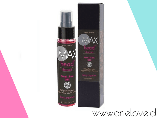GEL SEXO ORAL MAX HEAD BERRY