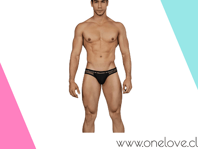 DEEP JOCKSTRAP BLACK TALLA XL