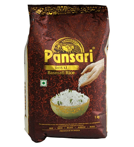 ARROZ BASMATI ROYAL PANSARI 1000GR