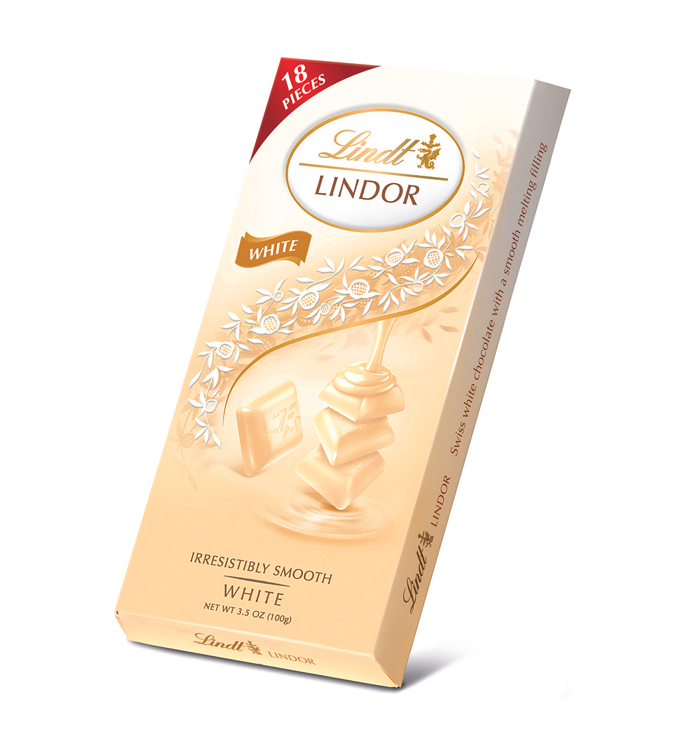 Chocolate Lindt Lindor Barra Blanco 100gr