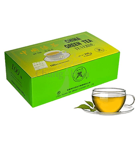 TÉ VERDE 100 bolsitas - Butterfly Brand . China Green Tea.