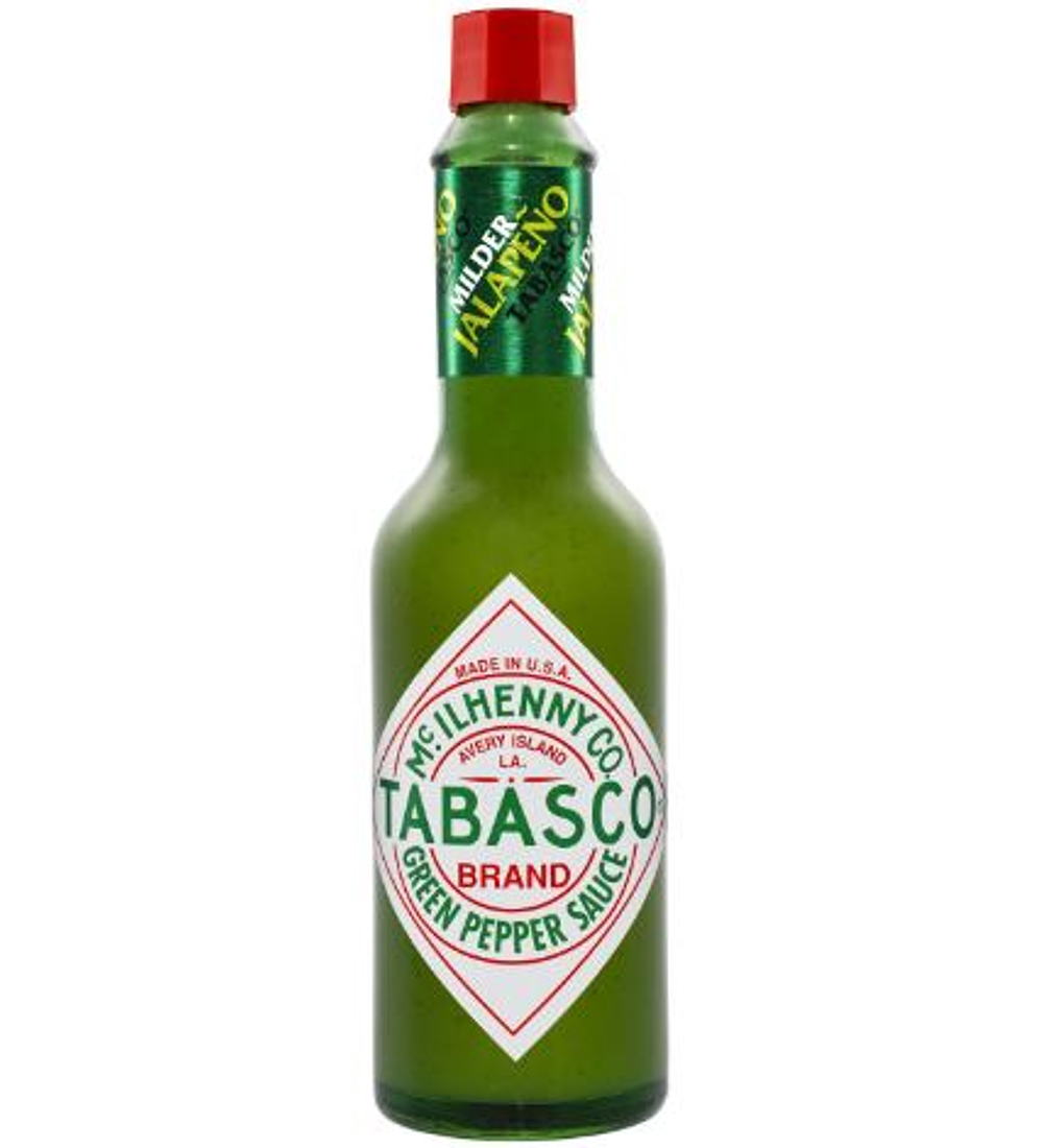 TABASCO ORIGINAL GREEN SAUCE 60 ML.