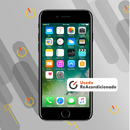 IPHONE 7 32GB - Negro Brillante - Usado Reacond.