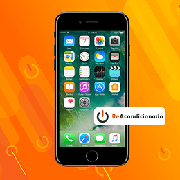 IPHONE 7 32GB - Negro Brillante - Reacondicionado