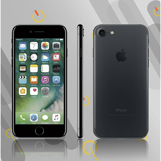 IPHONE 7 32GB - Negro Mate - Usado Reacondicionado