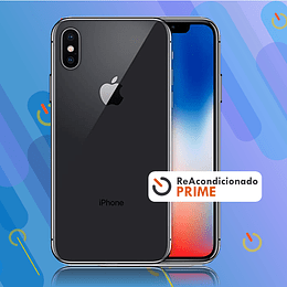 IPHONE X 64GB - Negro - Reacond. Prime