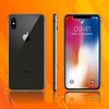 IPHONE X 64GB - Negro - Reacondicionado
