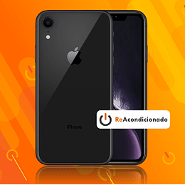 IPHONE XR 64GB - Negro - Reacondicionado