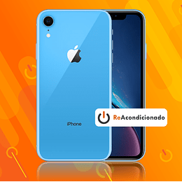 IPHONE XR 64GB - Azul - Reacondicionado