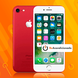 IPHONE 7 128GB - Rojo - Reacondicionado