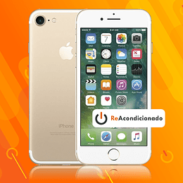 IPHONE 7 128GB - Dorado - Reacondicionado