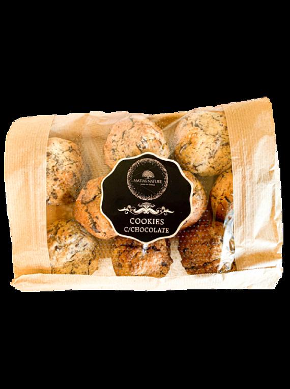 Cookies c/chocolate e noz (300g)