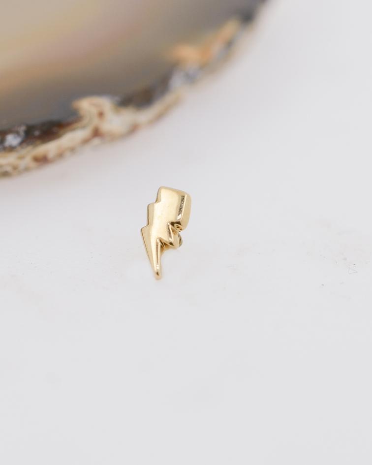 Rayo doble liso de oro amarillo – 16g