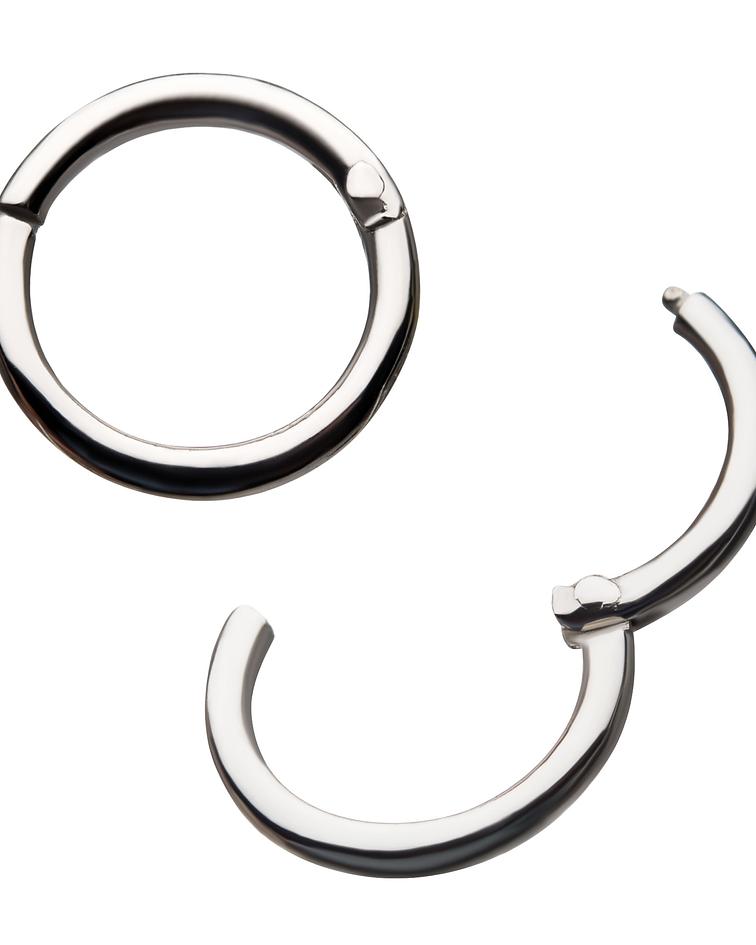 Clicker segment ring en oro blanco