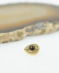 Gota con piedra en oro  - 14g