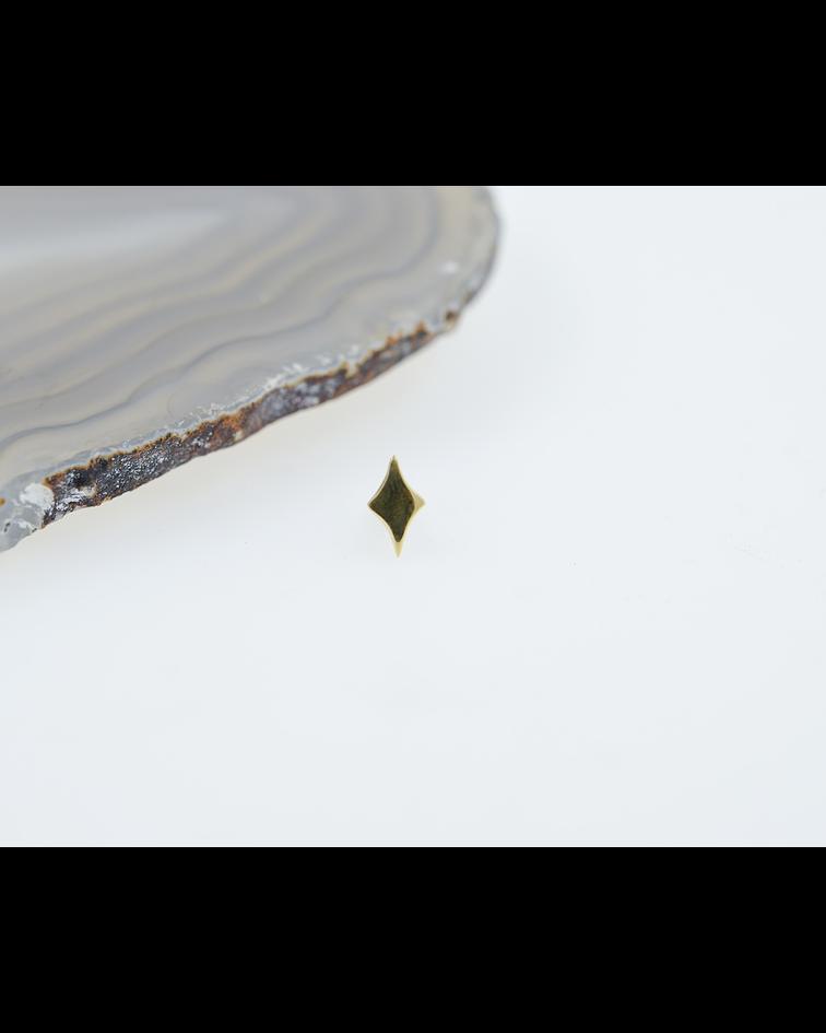 Aurora - pieza de oro amarillo - 14g