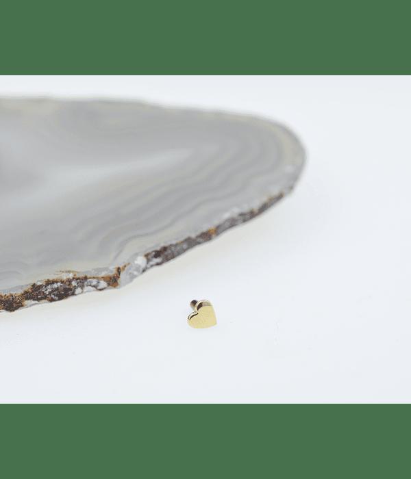 Venus - Corazón en oro amarillo - 14g