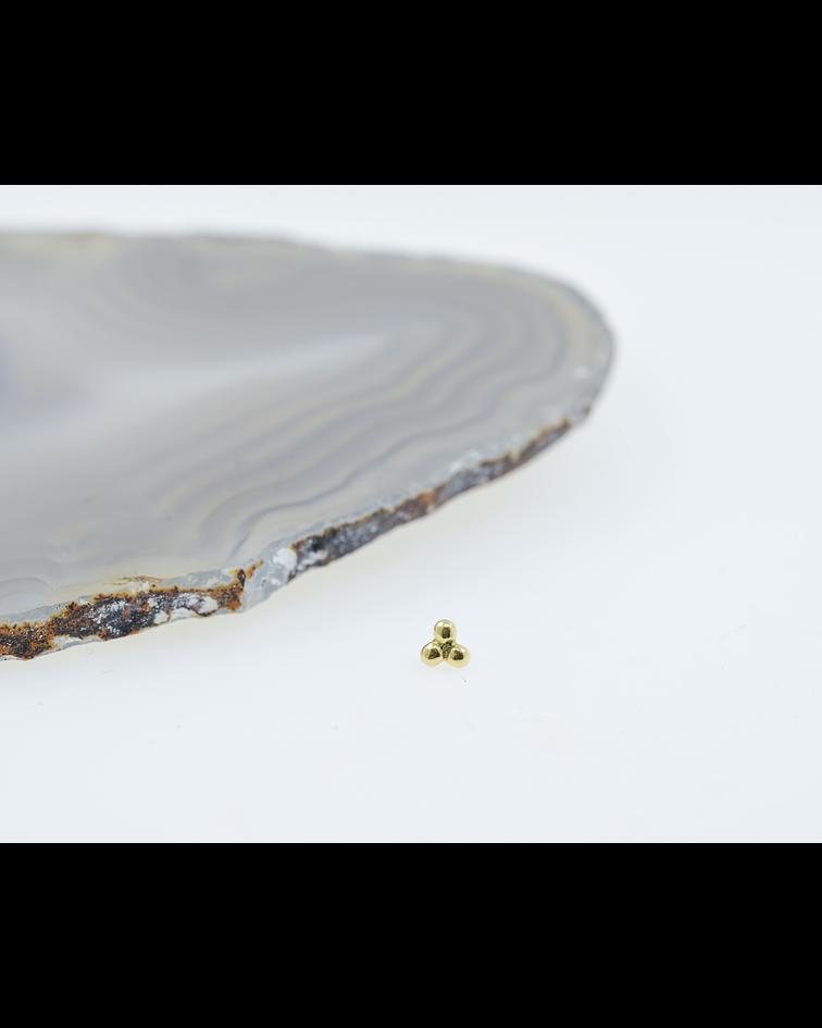 Trinidad de oro amarillo - 14g
